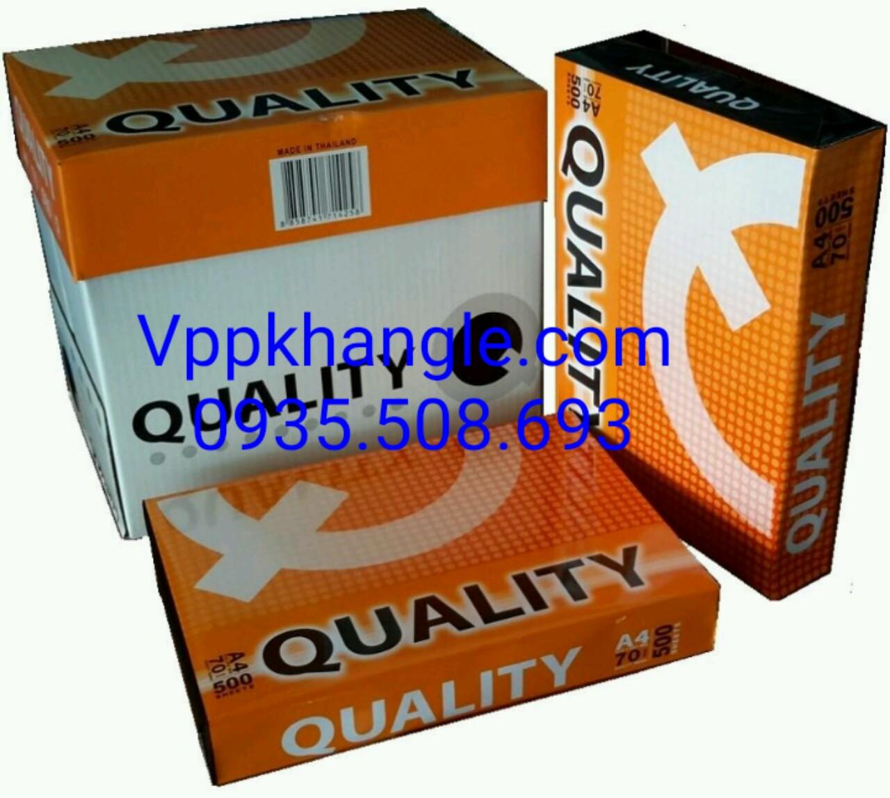 Giấy Quality A4 70gsm - Chi Tiết