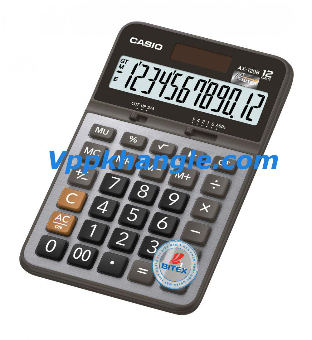 Máy tính Casio AX120B Chính Hãng