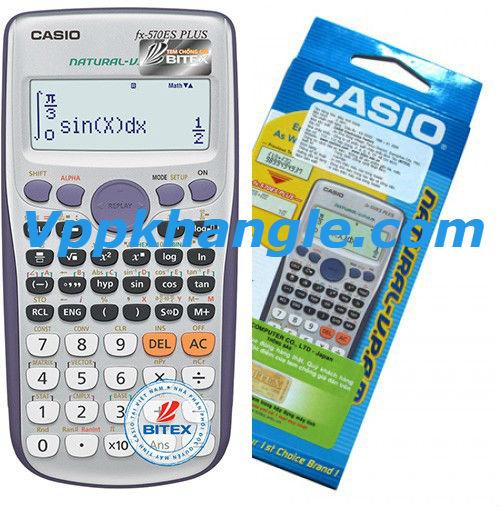 Máy Tính Casio 570ES Plus Chính Hãng