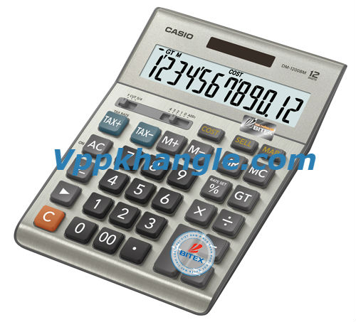 Máy Tính Casio DM1200B Chính Hãng