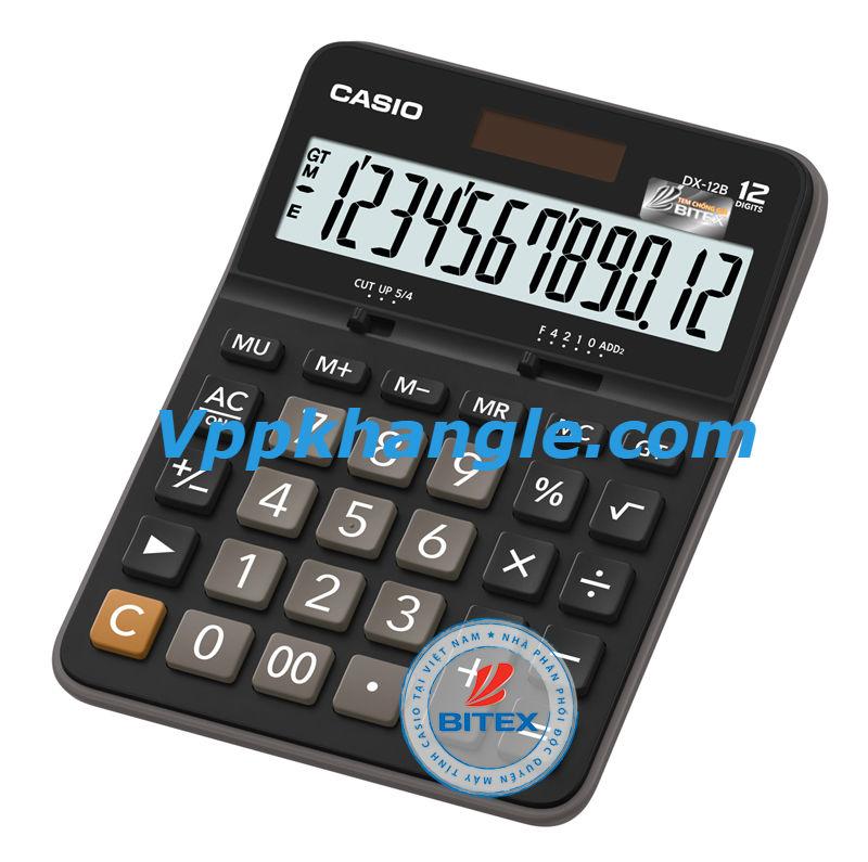 Máy Tính Casio DX12B Chính Hãng