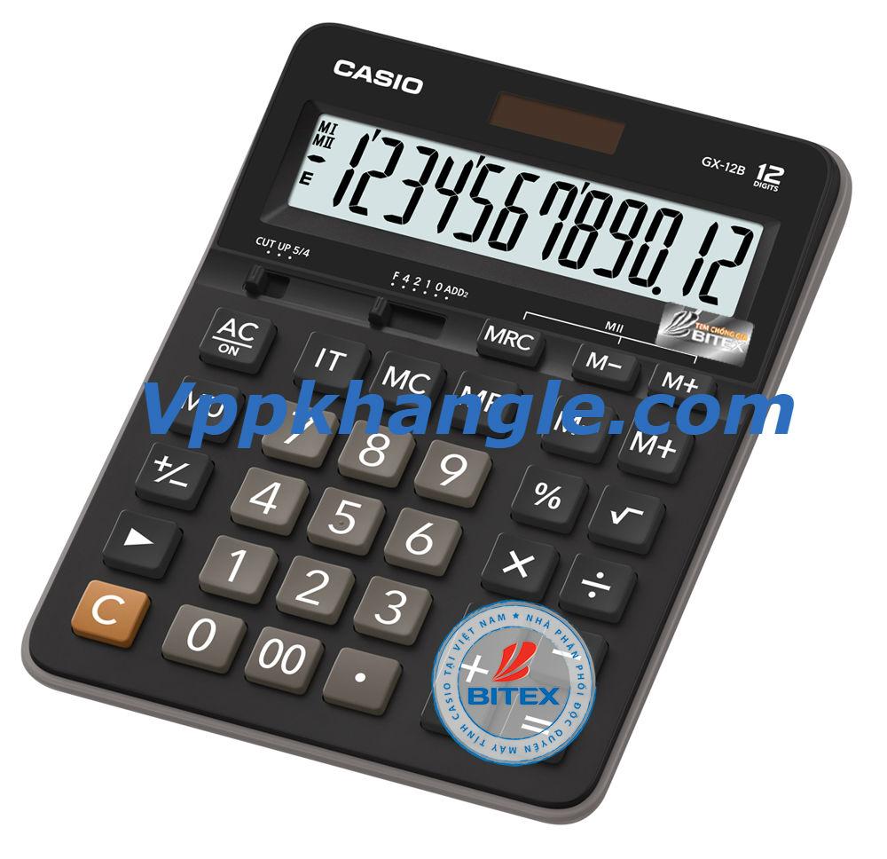 Máy Tính Casio GX12B Chính Hãng