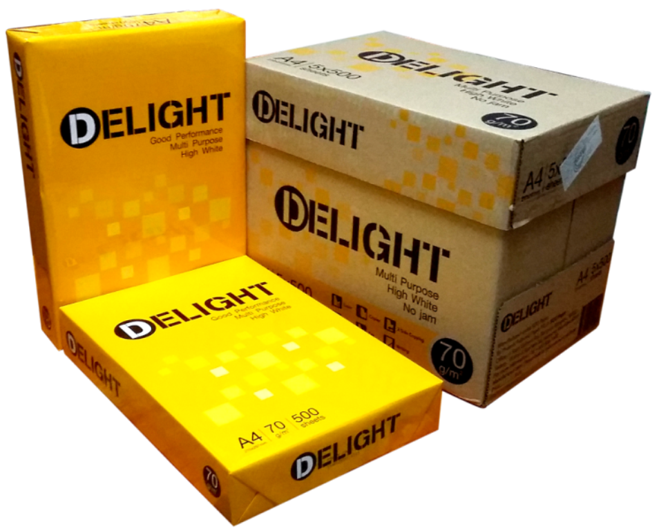 Giấy Delight A4 70gsm - Chi Tiết