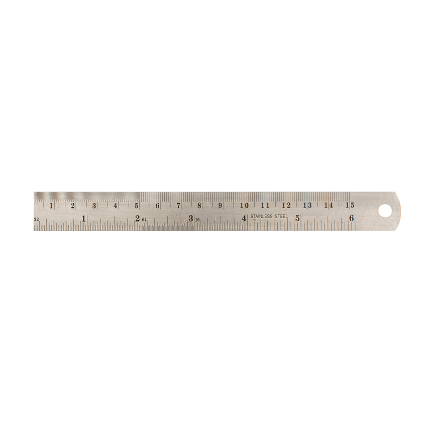 Thước sắt 15cm