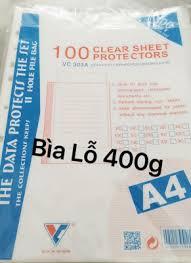 Bìa lỗ A4 dày - Chi Tiết