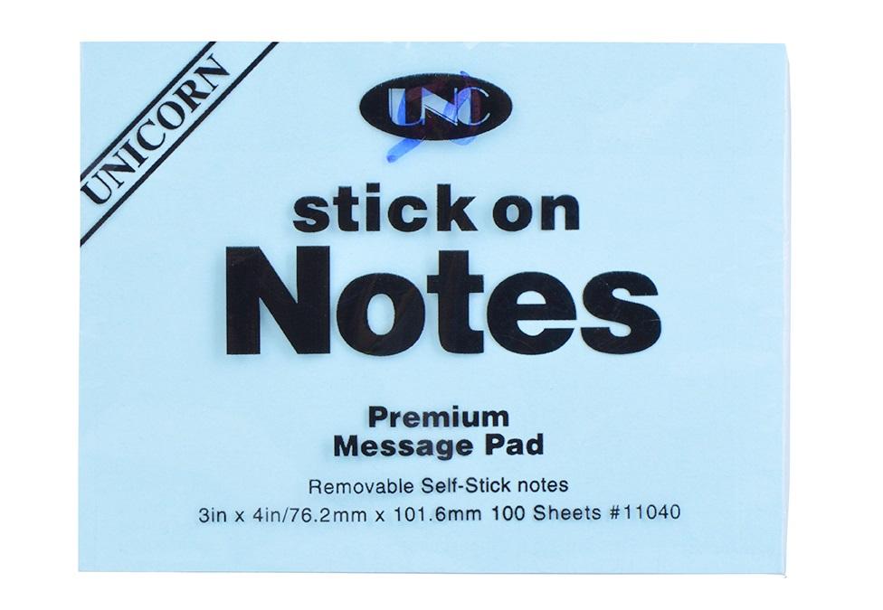 Giấy Note Màu 3x4 inch - Chi Tiết