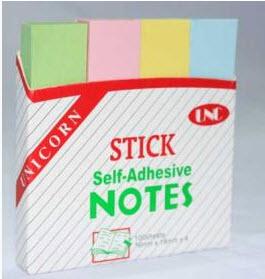 Giấy Note 4 màu  - Chi Tiết