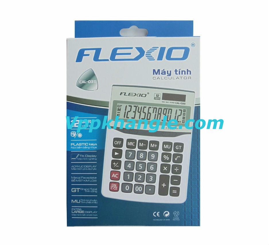 Máy Tính Thiên Long Flexio Cal03S